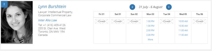 Scheduleportion