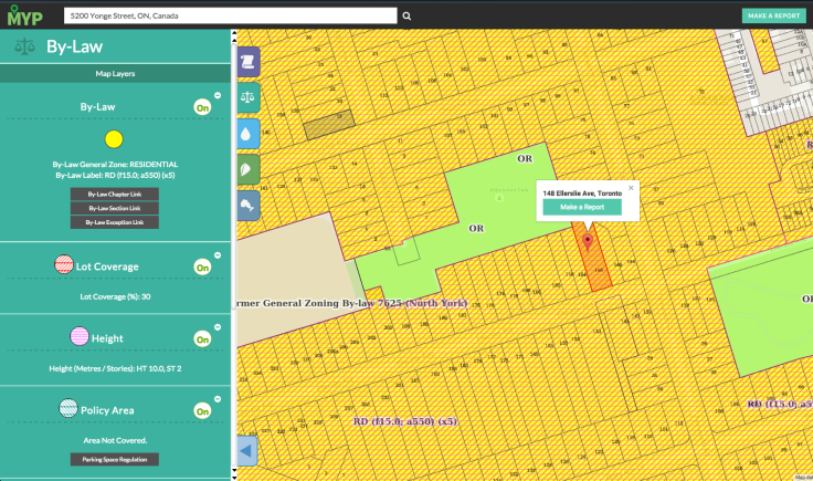 Map Your Property Interface